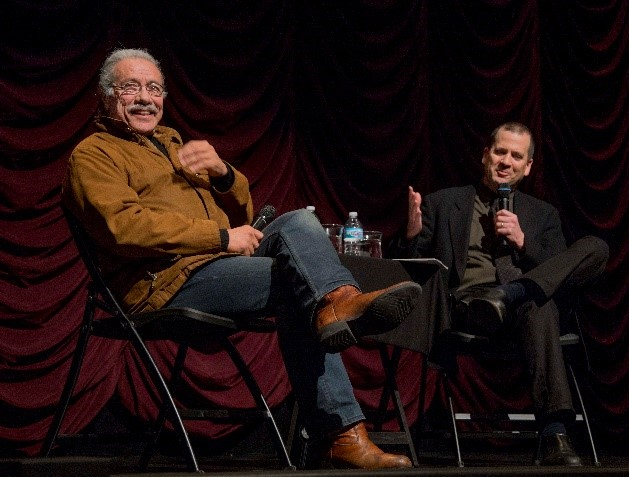 Edward James Olmos and Chon A. Noriega