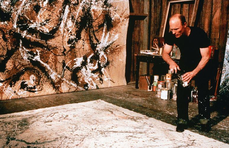 Ed Harris in Pollock
