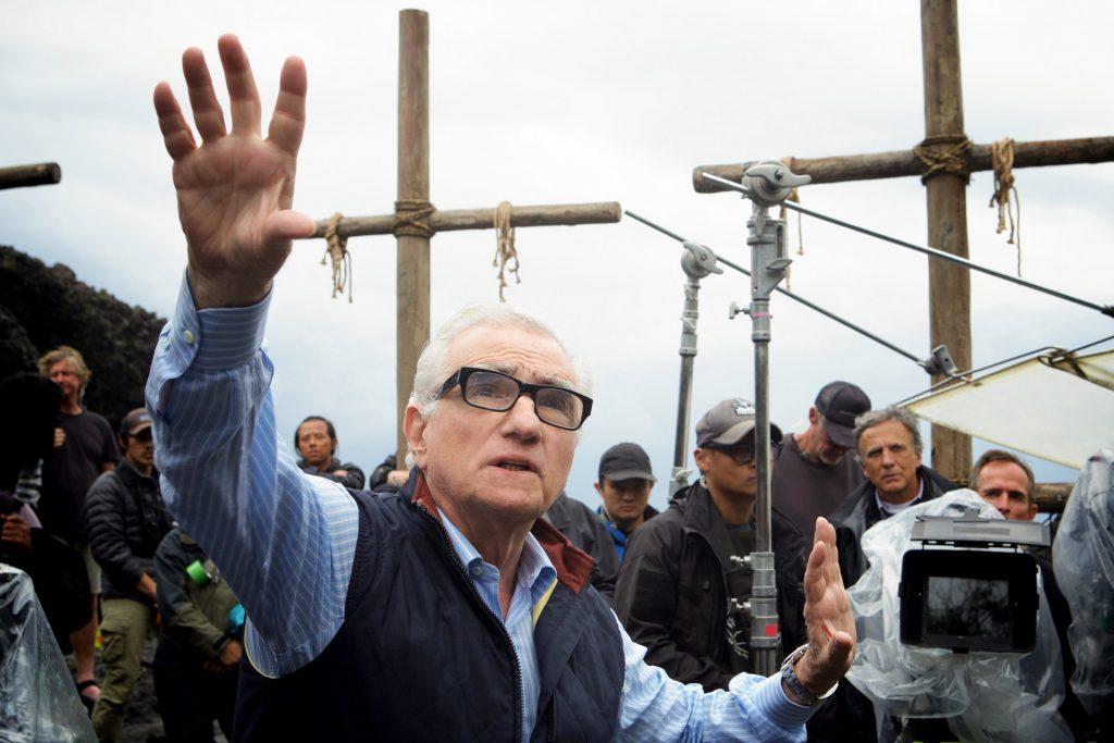 Martin Scorsese directing Silence