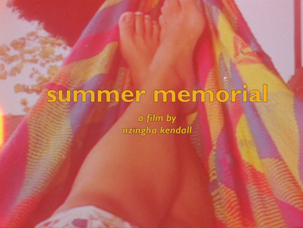 Summer Memorial Title Card