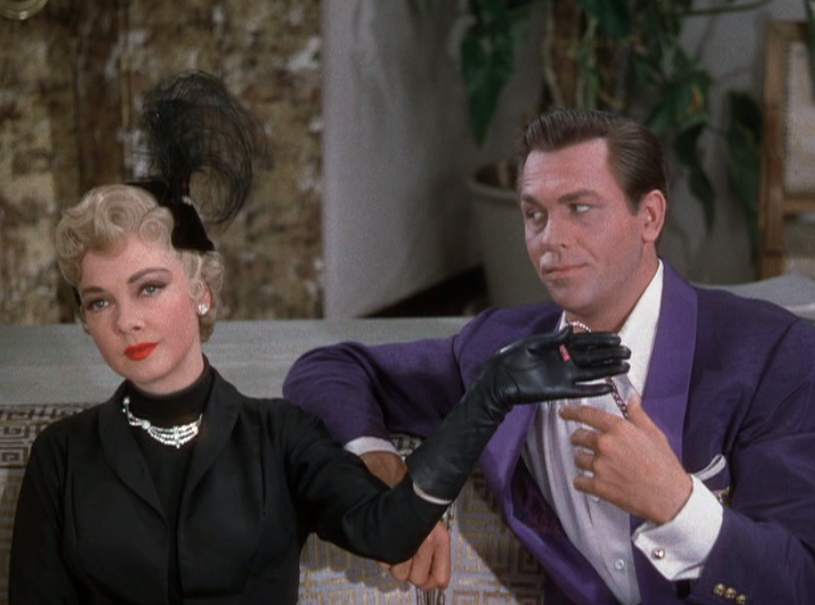 Kathryn Grayson and Howard Keel in Kiss Me, Kate