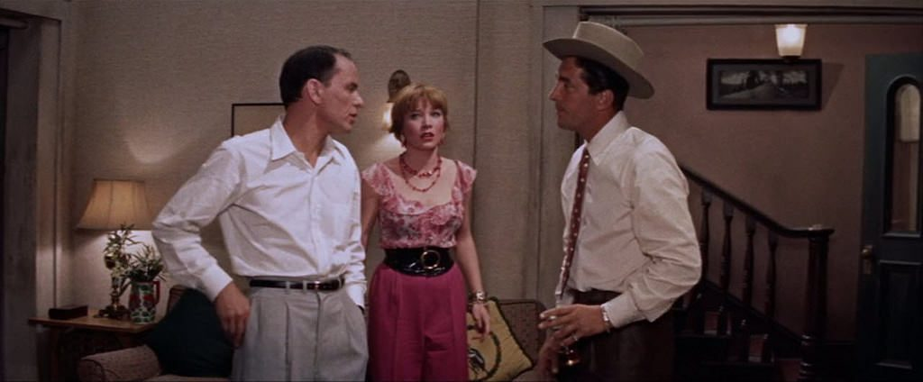 Sinatra, MacLaine, and Martin in Some Came Running