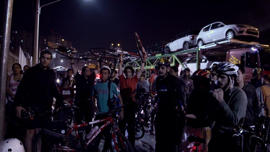 Still from Bikes vs. Cars