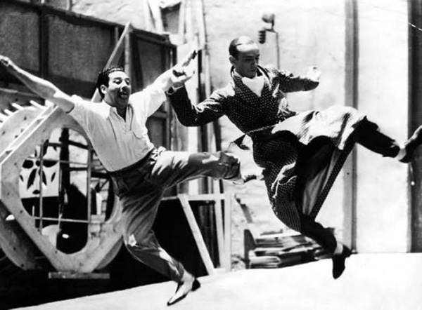 Mark Sandrich and Fred Astaire