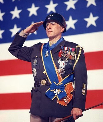 George C. Scott as the title character in Patton (1970)