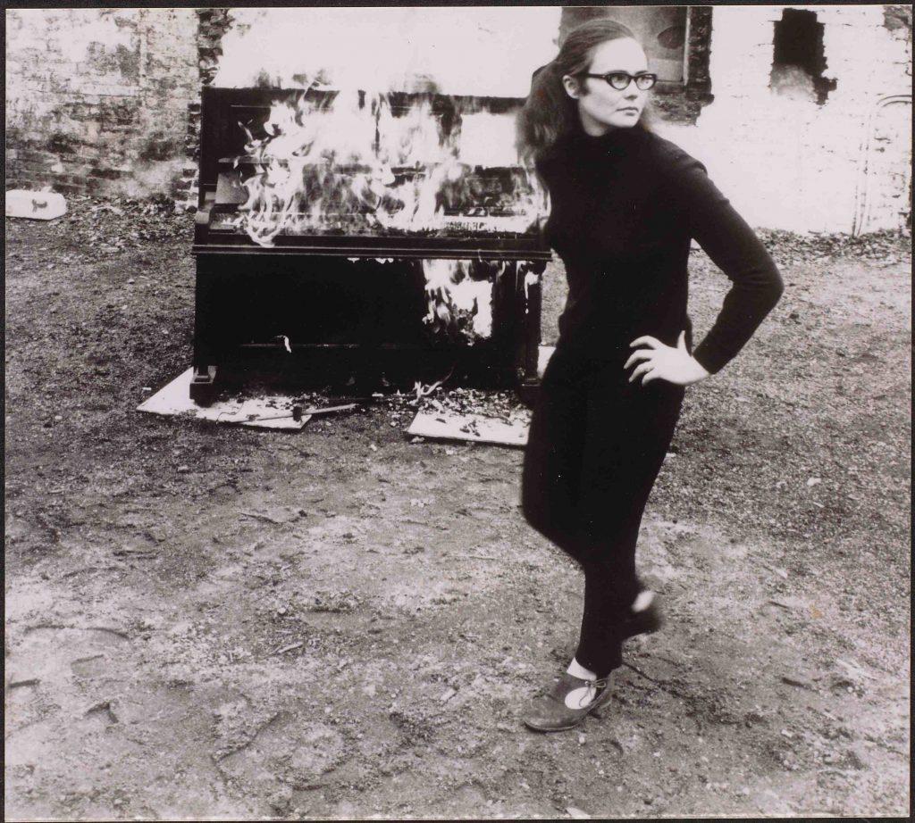 Annea Lockwood's Piano Burning, London 1968