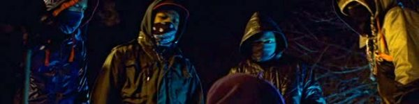 The kids at the start of Attack the Block