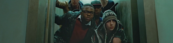 The kids at the end of Attack the Block
