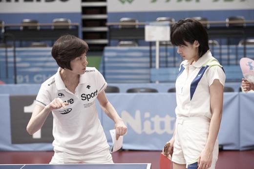 Hyun Jung-hwa training Ha Ji-won