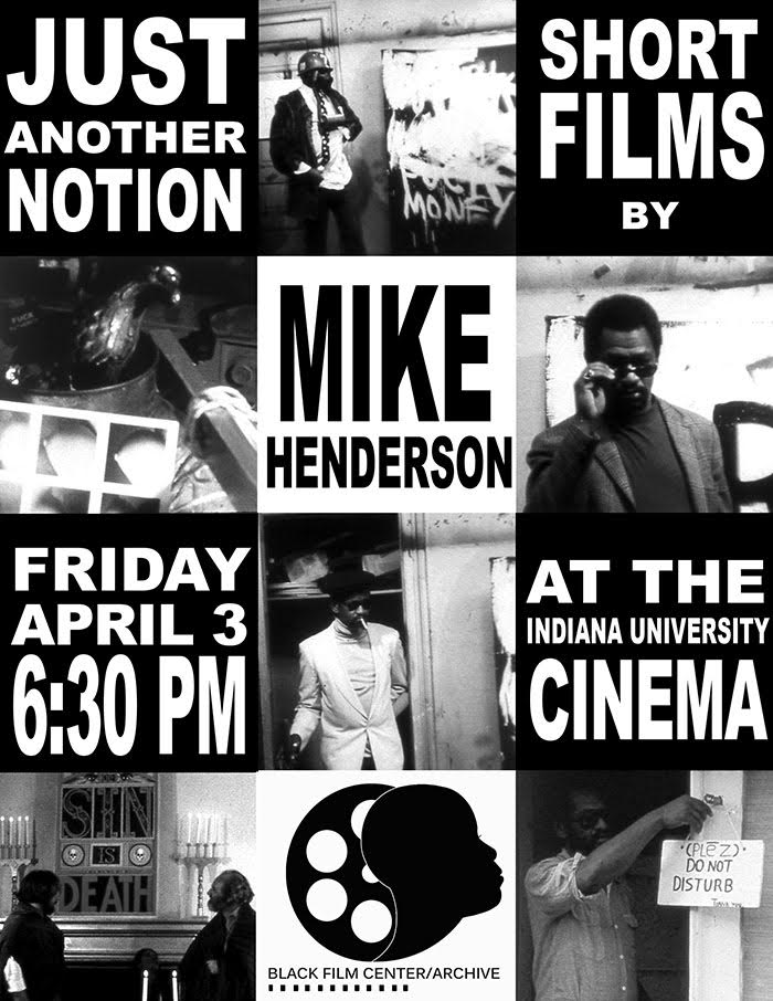 Poster from Mike Henderson's 2015 visit