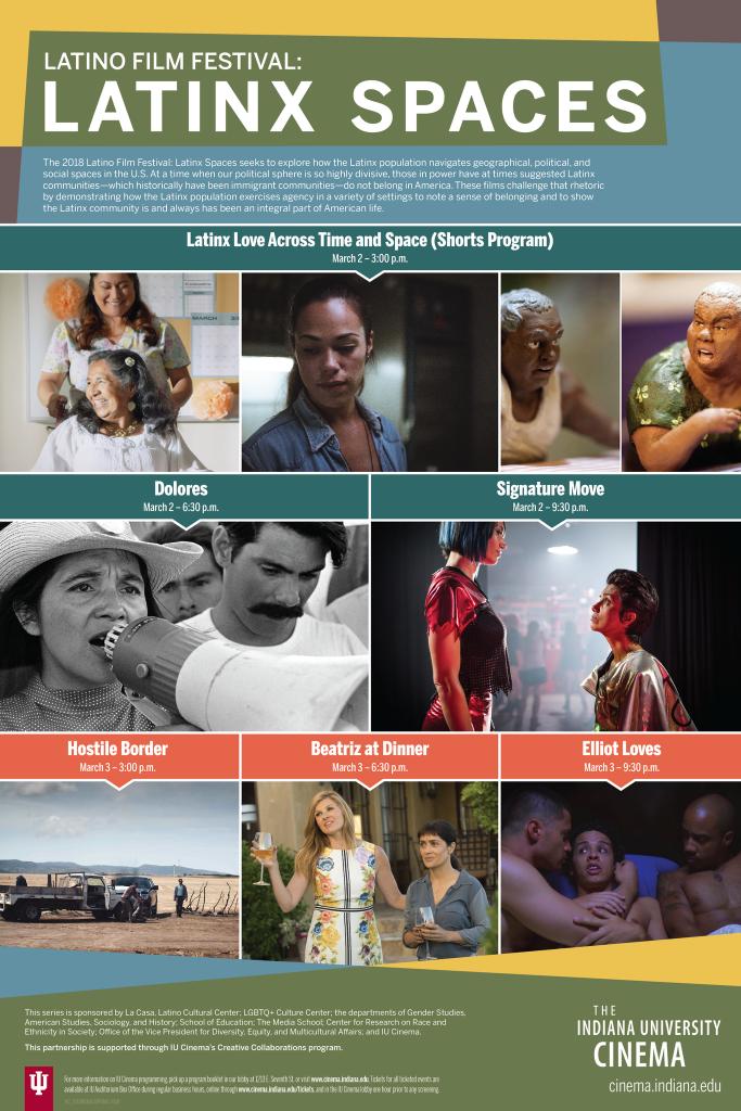 Latino Film Fest poster