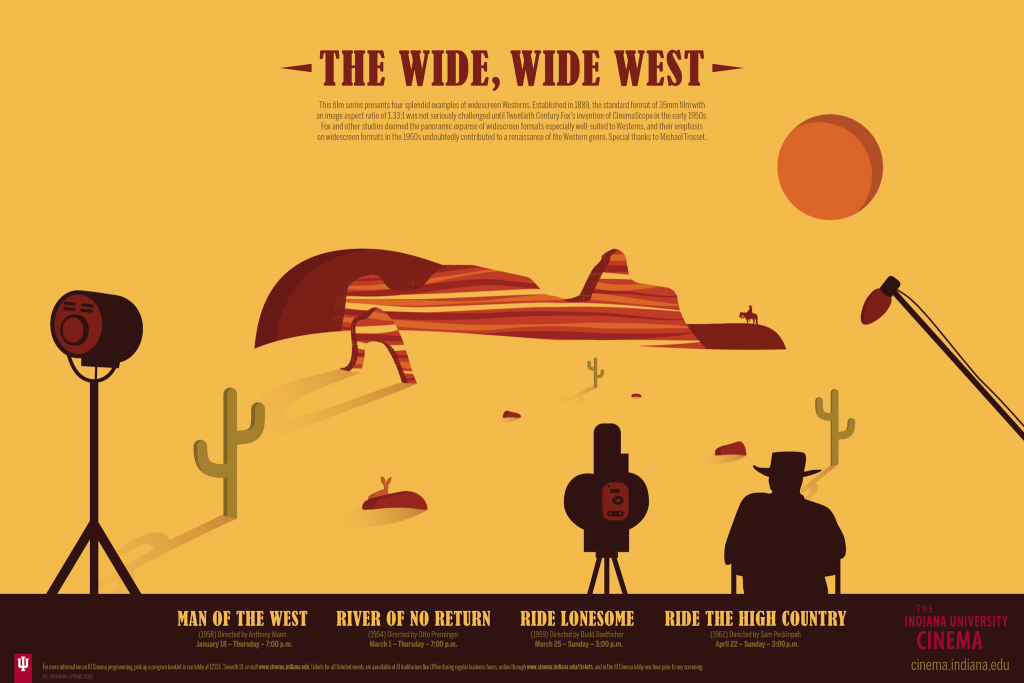 The Wide, Wide West poster