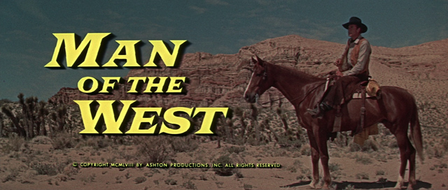 Man of the West opening credit