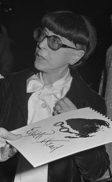 The iconic Edith Head