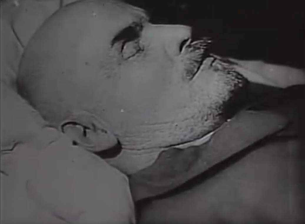 screencap from Three Songs of Lenin