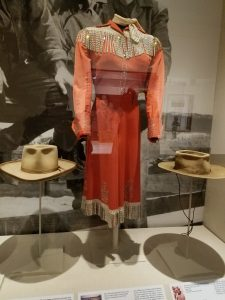 One of Gail Davis' costumes from Annie Oakley (1954-1957)