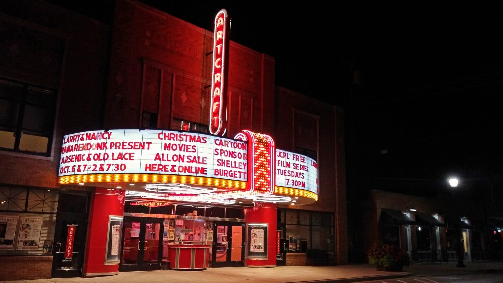 The Historic Artcraft Theatre (photo courtesy of Timothy Wagner)