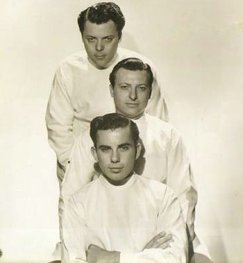 Brothers Perc, Wally, and Bud Westmore