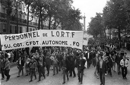 May 1968 demonstration in France
