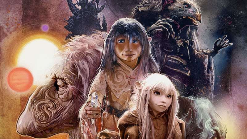 Jen and Kira from The Dark Crystal (1982)