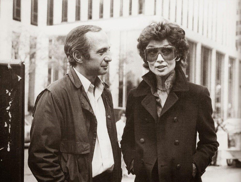 Ben Gazzara and Audrey Hepburn