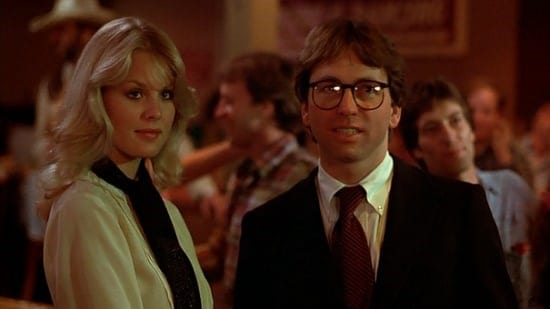 Dorothy Stratten and John Ritter in They All Laughed