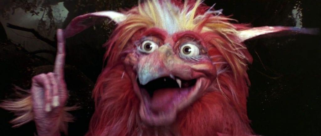 A Firey gets an idea in Labyrinth (1986)
