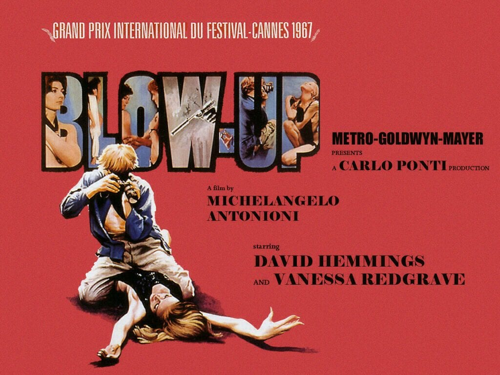 Poster for the film Blow-Up