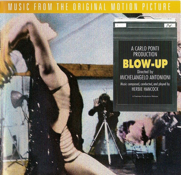 Cover for the soundtrack of Blow-Up