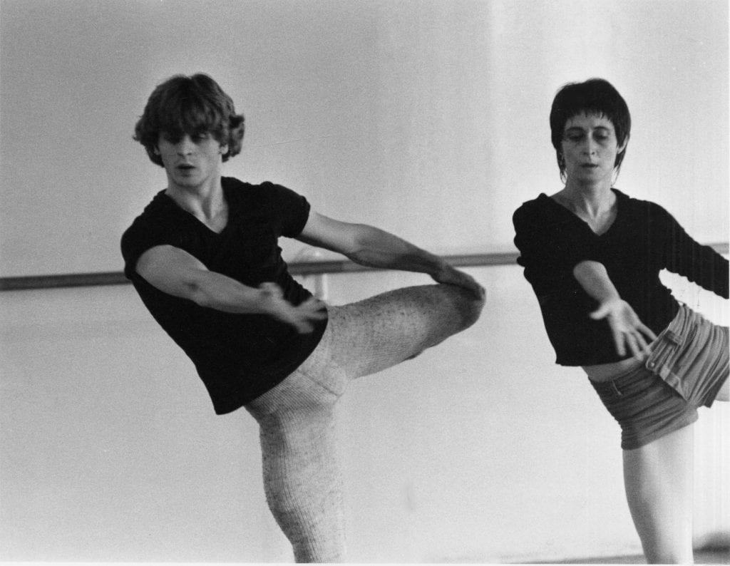 Mikhail Baryshnikov and Twyla Tharp