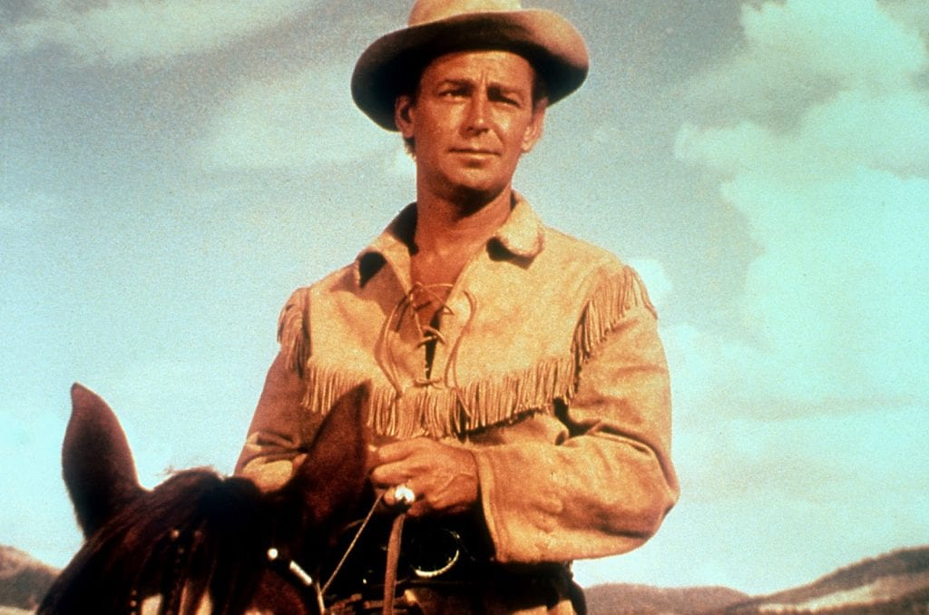 Alan Ladd as the title character in Shane (1953)