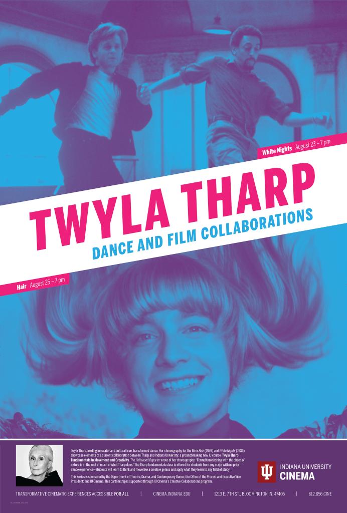 Twyla Tharp series poster