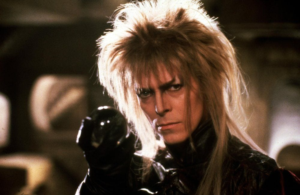 David Bowie as Jareth the Goblin King in Labyrinth (1986)