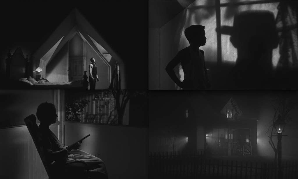 Eerie imagery from The Night of the Hunter (1955)