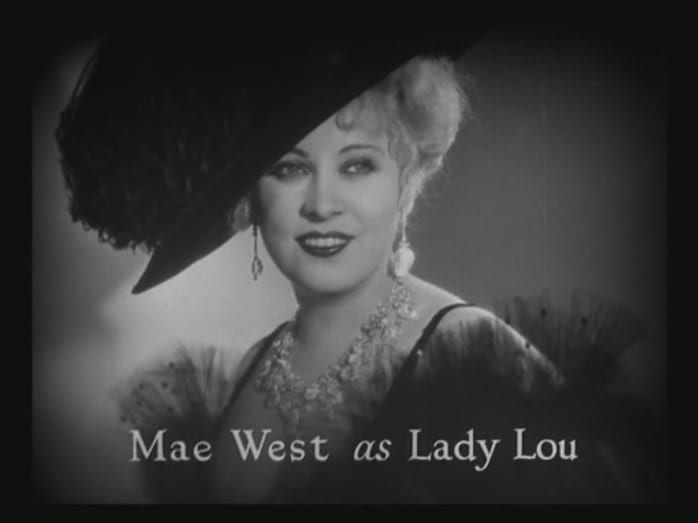 West as Lady Lou in SHE DONE HIM WRONG (1933)