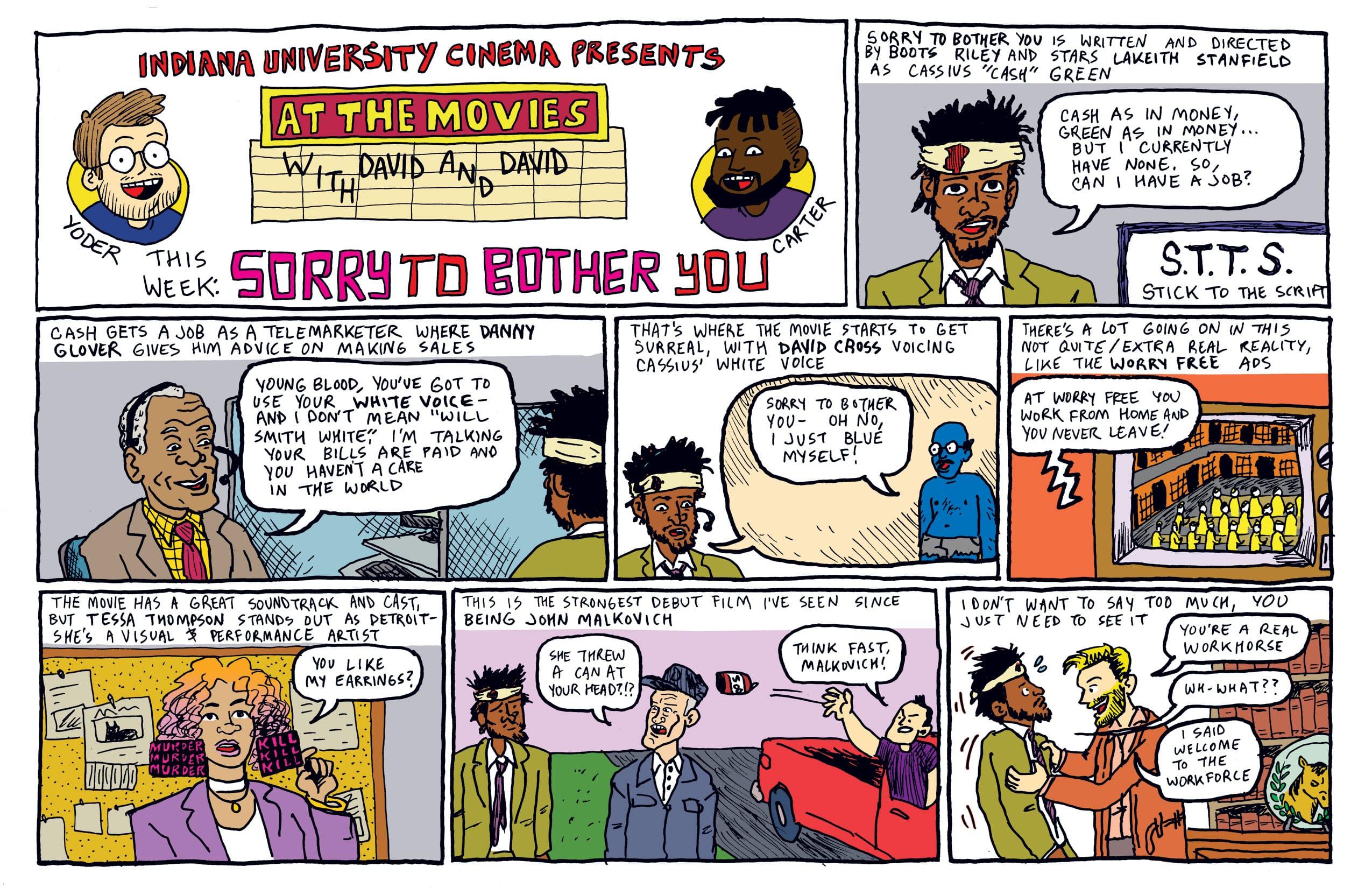 Comic by David Yoder