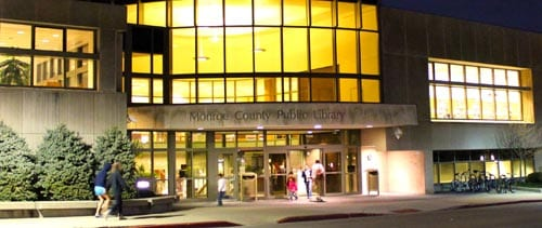 Monroe County Public Library in Bloomington, Indiana