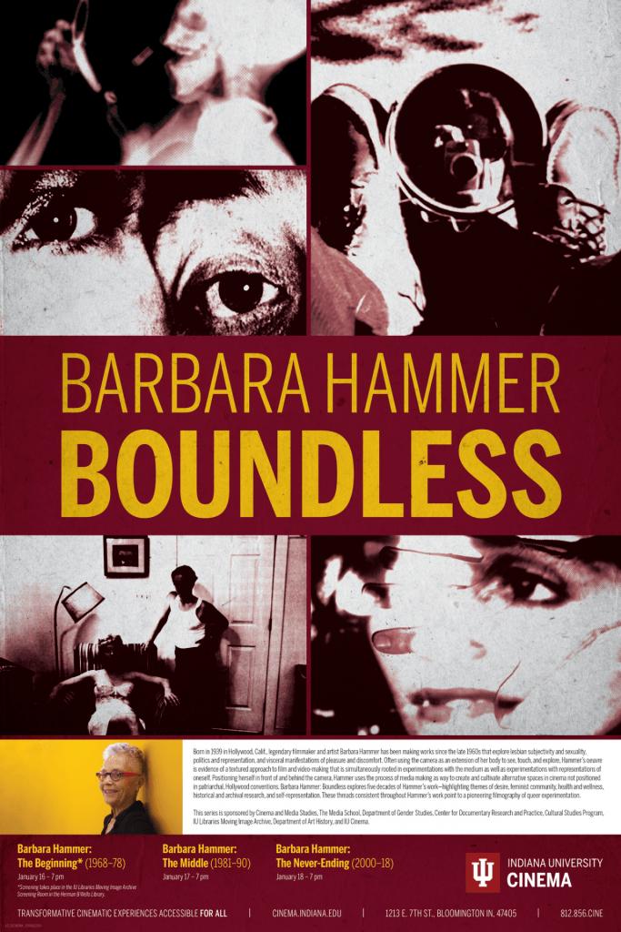 Barbara Hammer poster