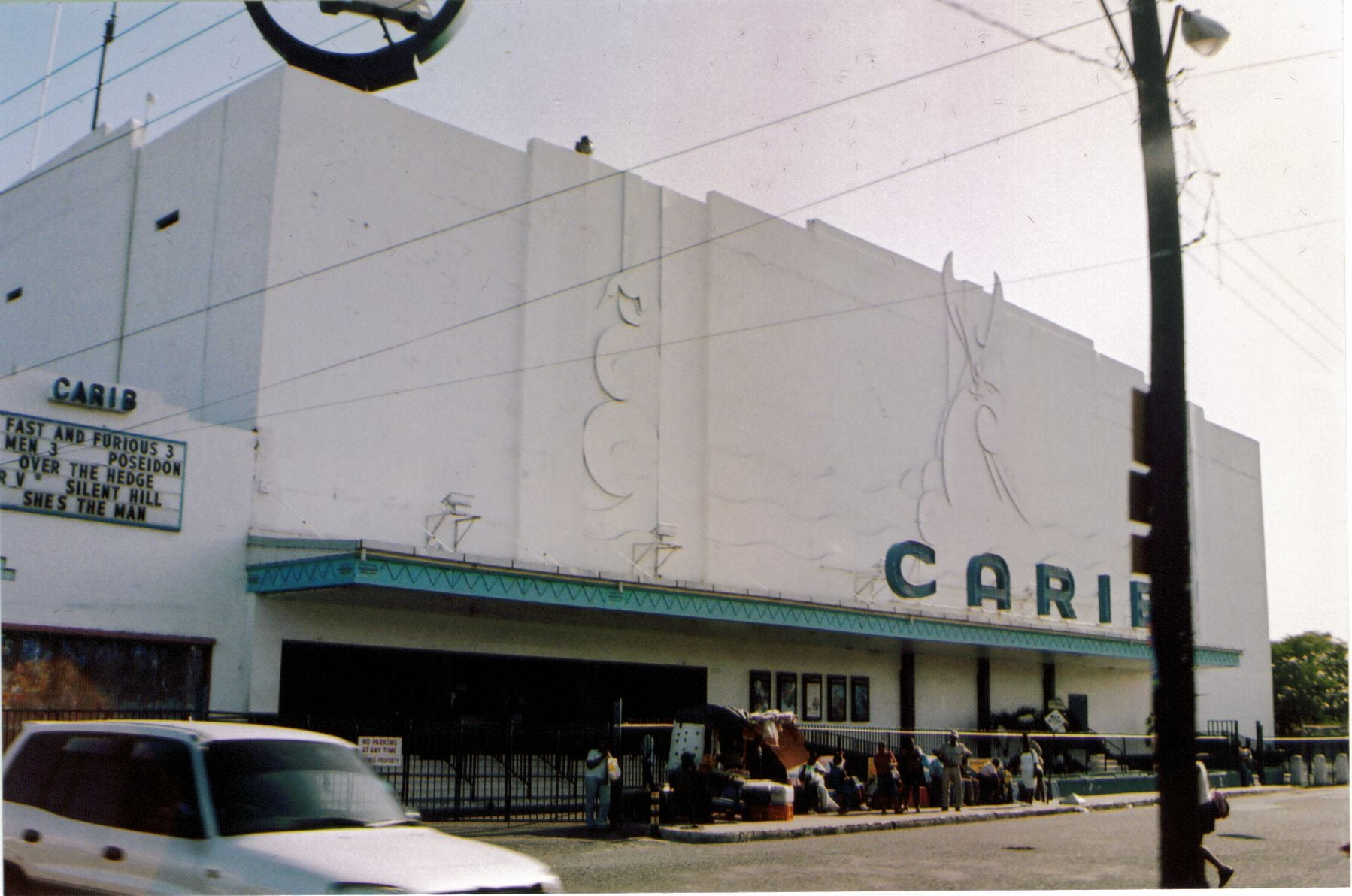 Carib movie theater, Kingston, Jamaica