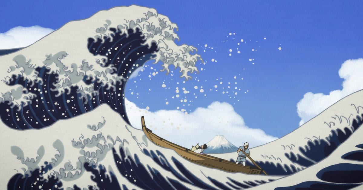 Still from Miss Hokusai
