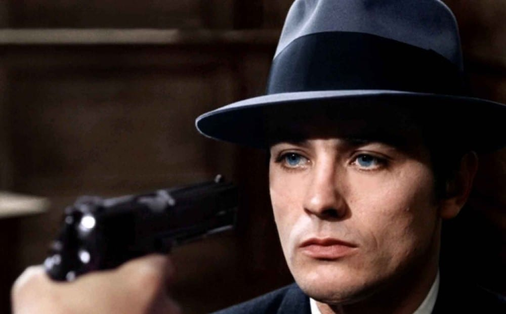 Alain Delon as Jef Costello in Le Samouraï (1967)