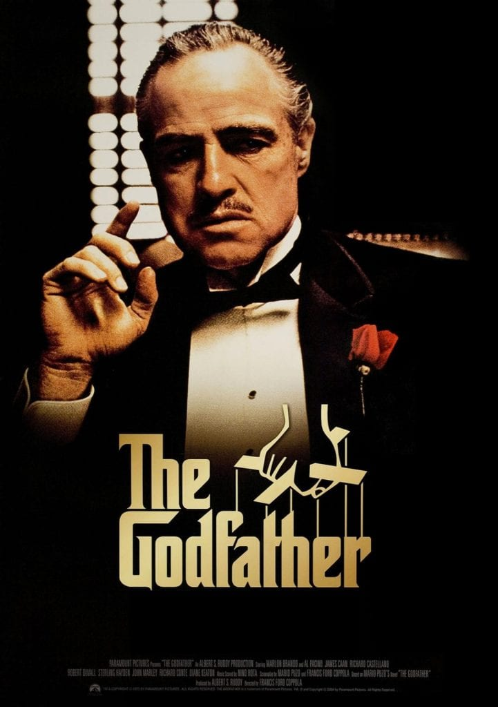 The Godfather (1972) is a classic American crime film.