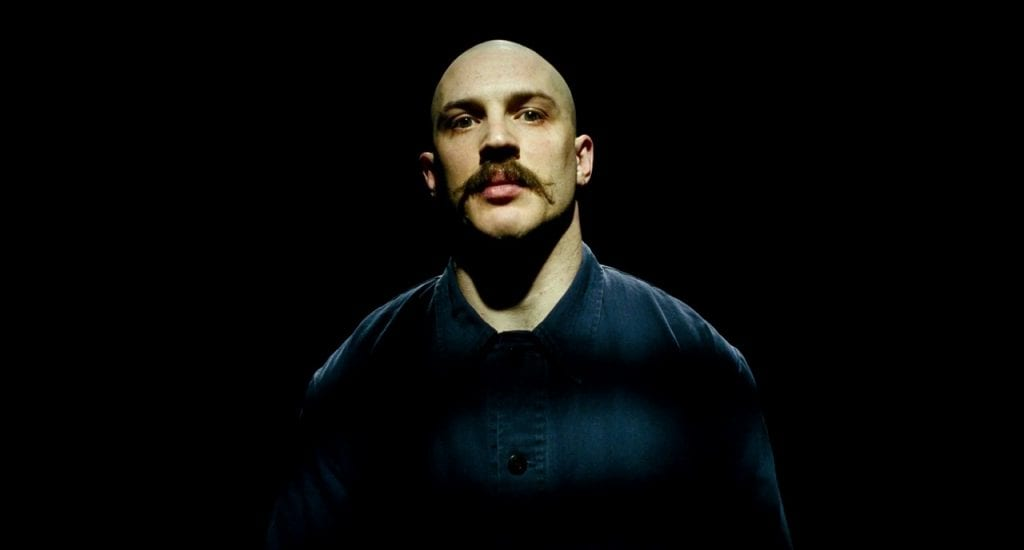 Tom Hardy as the title character in Bronson (2008)