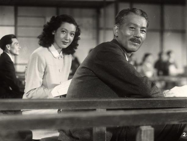 Setsuko Hara and Chishū Ryū