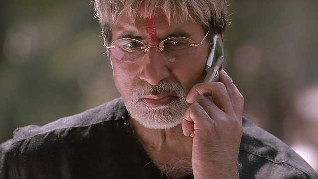 Amitabh Bachchan as Subhase Nagre in Sarkar (2005)
