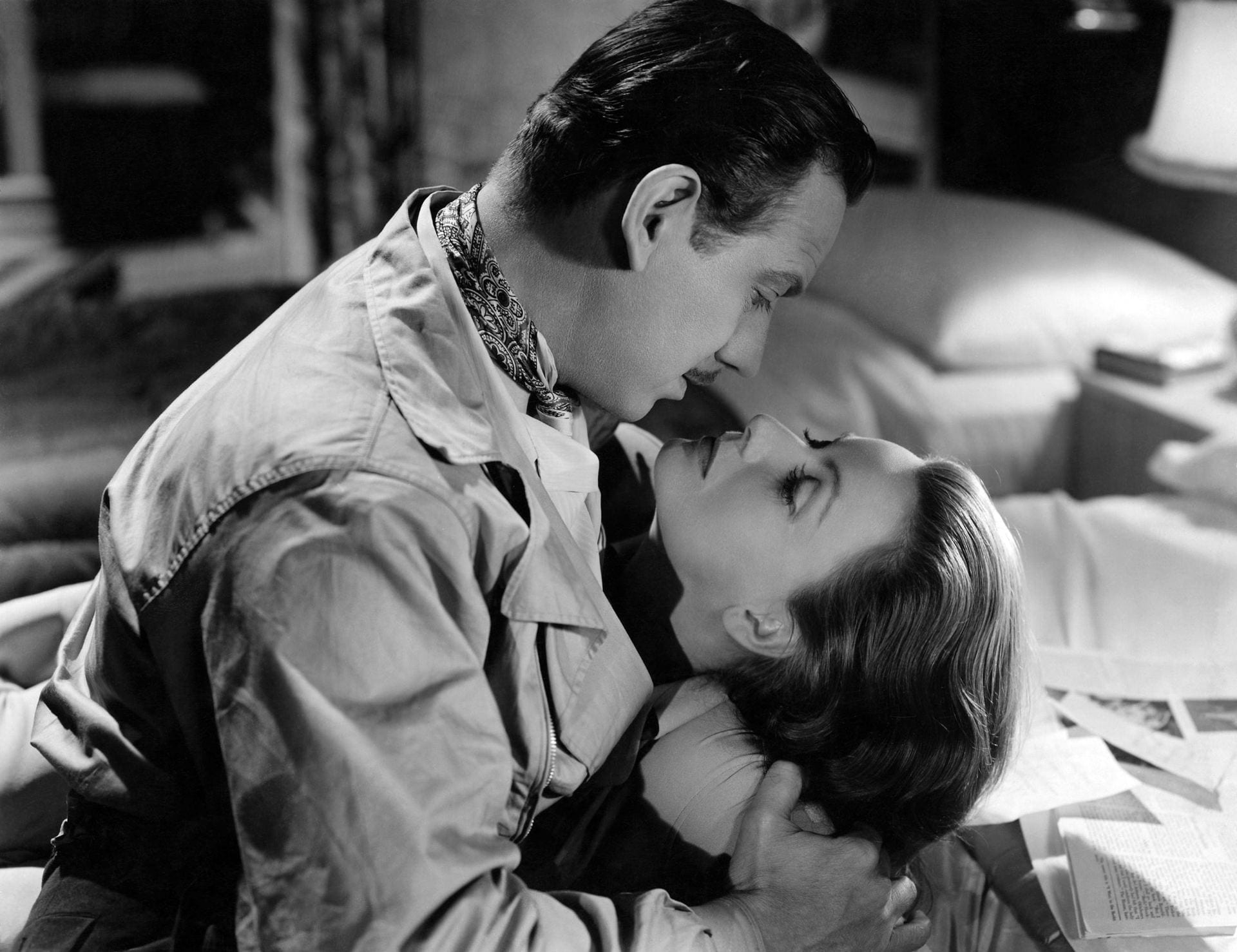 Greta Garbo and Melvyn Douglas in Two-Faced Woman