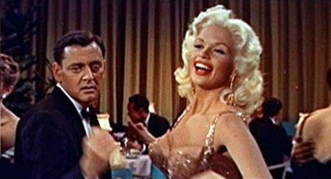 Tony Randall and Jayne Mansfield in Will Success Spoil Rock Hunter?