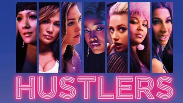 A photo of the main cast of Hustlers