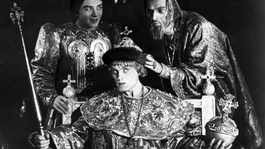 Vladimir and Ivan in the throne room