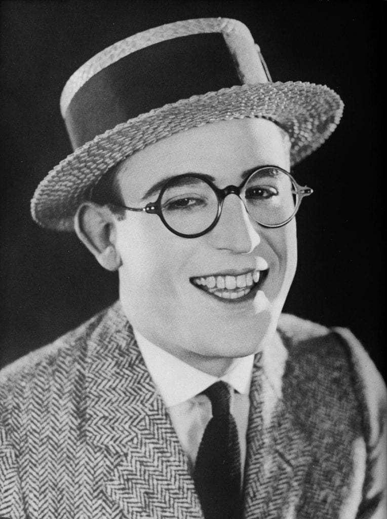 Harold Lloyd, comedy star of the Silent Era.